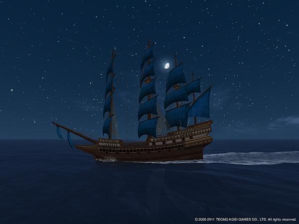 DOL 夜空に溶ける帆色の大型ガレオン.jpg