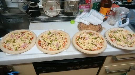 朝はピザを食べる.jpg