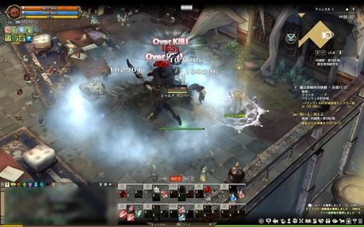 TOS_ケンタウロスにオベイして、スキル3で敵集団を粉砕するの図.jpg